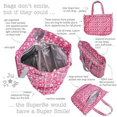 The latest Ju Ju Be bag, the SuperBe is great!  The perfect upgrade to the Mighty Be, which I LOVE!  @jujubebags #jujubebags @Ju-Ju-Be Int'l