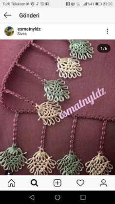 Crochet Necklace, Cushions, Crochet Collar