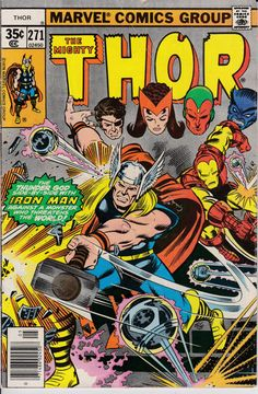 Thor 271 May 1978 Issue Marvel Comics Grade G by ViewObscura
