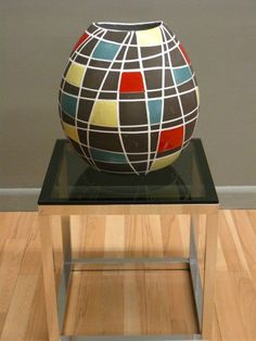 VINTAGE West German pot 1950s ceramic huge scale by PREVIEWMOD - $895