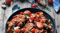 De la relativité de la mesure culinaire et mon rougail saucisse pour en parler... Kung Pao Chicken, Ethnic Recipes, Salads, Casserole Dishes, One Pot Meals, Pork, Apples, Bistro Kitchen, Good Food