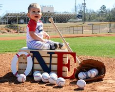 Baseball 1st Birthday