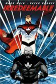 """Irredeemable, Volume 1"" by Mark Waid, illustrated by Peter Krause and John Cassaday.  Staff Picks: March 2013."