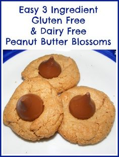 Gluten Free and Dairy free cookies