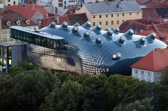 The Kunsthaus Graz in Graz, Austria