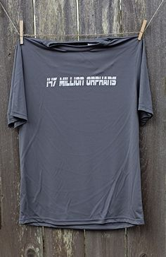 Stay dry while you get fit in our 147 short sleeve Dri Fit! This shirt is complete with our simple 147 Million Orphans logo, and a powerful verse on the back that shares our heart and mission. Loose fit for extra comfort. 147 Short Sleeve Dri Fit | 147 Million Orphans