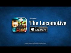 Locomotive - Interactive book for kids for iPhone & iPad. On the AppStore! Interactive Books For Kids, App Store, Locomotive, Rabbit, Ipad, Iphone, Big, Bunny, Rabbits
