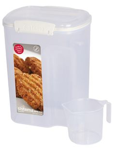 13.7-Cup Flour Container