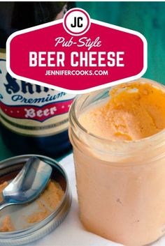 This Easy Pub Style Beer Cheese Dip is an appetizer or snack everyone will love. Serve warmed or cold with soft pretzels, pumpernickel or your favorite crackers!
