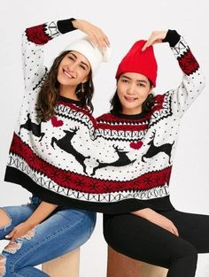 GET $50 NOW   Join Zaful: Get YOUR $50 NOW!https://m.zaful.com/two-person-reindeer-christmas-sweater-p_455351.html?seid=3qd3kivnpdje9geinbqfkg8ml7zf455351