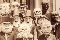 Vintage masks....