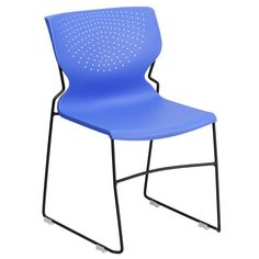 Flora Full Back Stackable Guest Chair