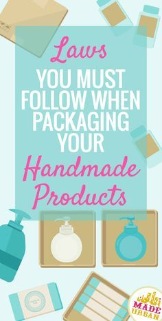 Do you package your handmade cream in a jar? Do you have the product name, volume and your business' name and address clearly printed on each label? If not, you may be in violation of Canada's laws when it comes to packaging and labeling. Regardless of wh Etsy Business, Craft Business, Business Names, Creative Business, Business Tips, Business Products, Name Your Business, Business Branding, Diy Business Ideas