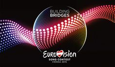 Here is the 2015 Eurovision Song Contest logo and artwork. The 2015 Eurovision Song Contest will be held in Vienna, Austria due to Conchita Wurst's win in 2014 in Copenhagen Denmark. I can't wait for the 2015 Eurovision Song Contest in May 2015 Eurovision Logo, Eurovision France, Eurovision Song Contest, Hetalia, Terry Wogan, Pop Music, Karaoke, Australia, Songs