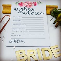 Perfect for your Bridal shower to add a touch of class and some memorable entertainment.