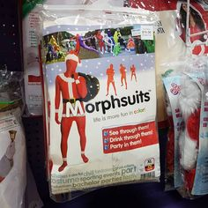 Just in time for the #winnipegsantaclausparade check out our fantastic Santa #morphsuit at a very special price while supplies last!