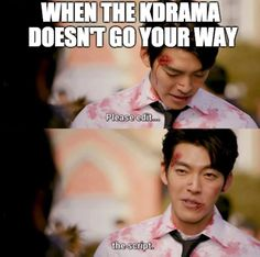 I wish I can change the ending of this drama Korean Drama Funny, Korean Drama Quotes, K Drama, Drama Fever, Kdrama Memes, Funny Kpop Memes, Uncontrollably Fond Kdrama, My Love From Another Star, W Two Worlds