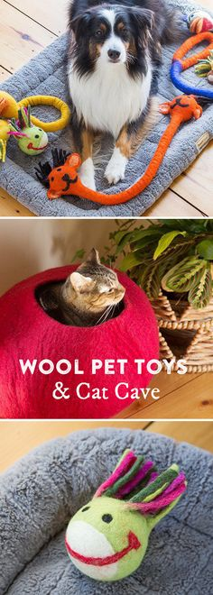 Unique gifts for your pets. These all-natural toys are handcrafted in Nepal for fair wages—offering safe work conditions and a steady income.