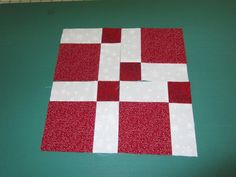 I recently shared a Disappearing Nine Patch block with some of my quilting friends that I had seen at sew-fantastic  We are going to be m...