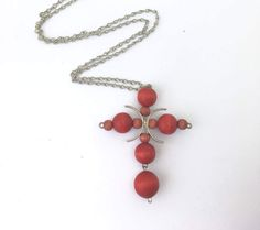 Aarikka wood and silver plated pendant necklace by KoruJewelleryCo on Etsy Wooden Jewelry, Silver Jewelry, Beaded Necklace, Pendant Necklace, Vintage Wood, Cross Pendant, Silver Plate, Scandinavian, Dangles