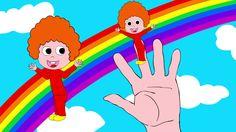 The Finger Family Song, nursery rhyme for kids, toddlers, children