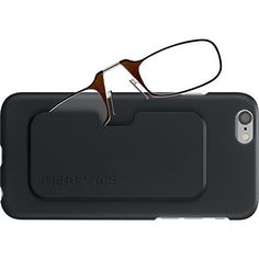 """'ThinOPTICS Reading Glasses & Case' • @Amazon  •  $30.°° + FREE shipping!       Select the Strength & Color options!    Includes:  1 Reader & 1 cell Case w/ Flex-Grip Technology enables 'ThinOptics Reading Glasses' to flex open & grip onto virtually any nose, providing On-the-Go stability & comfort.  Custom Cell Case puts your 'ThinOptics Readers' at your fingertips.  Case offers complete Protection for your cell & the soft-touch paint feels silky smooth in your hand … !"""""""