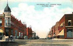 Guthrie Oklahoma OK 1909 Oklahoma Avenue
