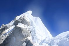 #Hillarystep is the final 40' obstacle prior to reaching the true summit of #Everest at 29,035'. I had no delays in 2011 as I climbed completely alone above the death zone. Http://briandickinson.net