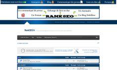 Capture d\'écran du forum de référencement RankSeo