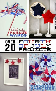 20  Fourth of July Projects