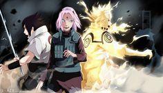 Naruto 632  - TEAM 7 by IFrAgMenTIx.deviantart.com on @deviantART