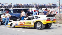 John Force's early Funny Car - not all that successful