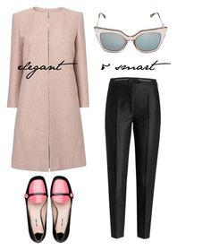 Elegant&Smart by pallyxoxo on Polyvore featuring polyvore, fashion, style, L.K.Bennett, Karl Lagerfeld, Miu Miu and Fendi