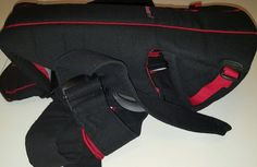772b184d46e Baby Bjorn Active Baby Carrier with Lumbar Back Support Black and Red VGC