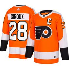 adidas Men's Philadelphia Flyers Claude Giroux #28 Authentic Pro Home Jersey, Size: 50, Team