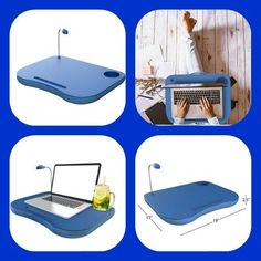 This lap top table is suitable for size up to laptop and has an integrated mouse pad, cup platform and pen holder. This lightweight stand folds to fit into any standard computer bag so you can comfortably use a laptop wherever you are. Lap Desk, Computer Bags, Pen Holders, Floor Chair, Tray, Laptop, Notebook, Bed, Table