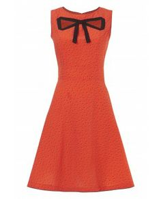 Love this site! - 170 - Finders Peepers Dress - Coral Spotty Dotty
