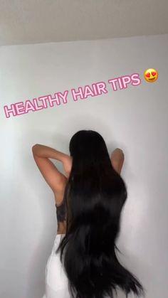 Hair Tips Video, Long Hair Tips, Hair Care Tips, Natural Hair Care, Natural Hair Styles, Long Hair Styles, Hair Growing Tips, Diy Hair Mask, Healthy Hair Tips