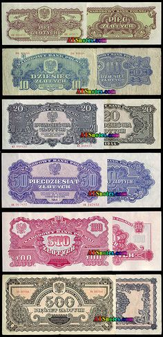 poland currency | Poland banknotes - Poland paper money catalog and Polish currency ...