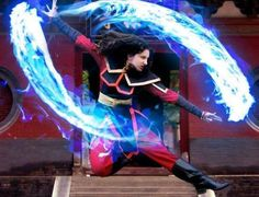 Azula of the Fire Nation.