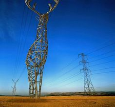 Electric pylons I'd love to see in reality