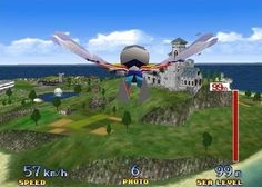 Pilot Wings the actual game wasn't that exciting for me, but I loved where you could fly with wings in the open world. It was the closest to flying I'd experienced at that point. The Old Days, Up And Running, Nintendo 64, My Childhood, Arcade, Consoles, Growing Up, Pilot, Video Games