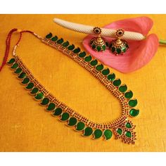 BEAUTIFUL KERALA STYLE LONG HAAR JEWEL SET - Online Shopping for Necklaces by Dreamjwell