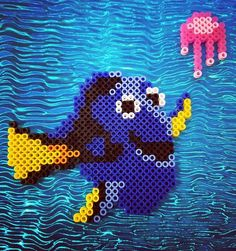 Dory perler beads by 8_bits_tall