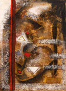 Sidi Yahya, Mauritanian artist http://artsplastiquesmauritanie.blogspot.fr/2009/03/sidi-yahya-tel.html