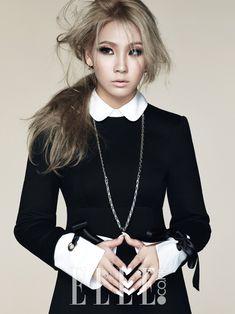 CL for ELLE korea October 2014