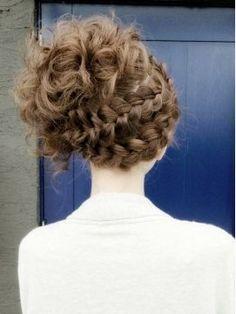 [可愛い]ルーズで可愛い編み込みヘアアレンジ画像まとめ - NAVER まとめ