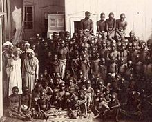 Arab slave trade - Arab captors and Zanzibar Black workers. During the Arab slave trade, many ruling class Arabs enslaved European whites as well as sub-Saharan (aka Ethiopian) blacks. According to Robert Davis, between 1 million and 1.25 million Europeans, including many Quakers, were captured between the 16th and 19th centuries by Barbary corsairs, who were vassals of the Ottoman Empire and sold as slaves.