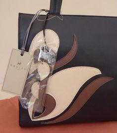 "Radley Purple/Navy Medium Shoulder Bag - BNWT - ""Linosa"" - RRP £165 - NEW | eBay"