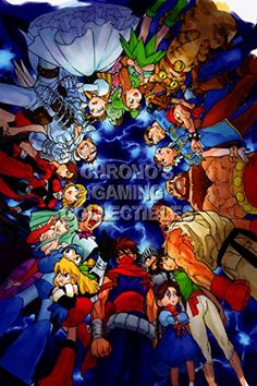 CGC Huge Poster  Marvel vs Capcom 2 New Age of Heroes PS2  MVC001 24 x 36 61cm x 915cm ** Visit the image link more details. Note:It is affiliate link to Amazon. #fun